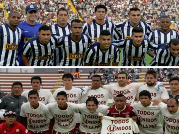 U y Alianza jugaran el clasico el 1ro de Junio en el Estadio Nacional. May 23, 2014