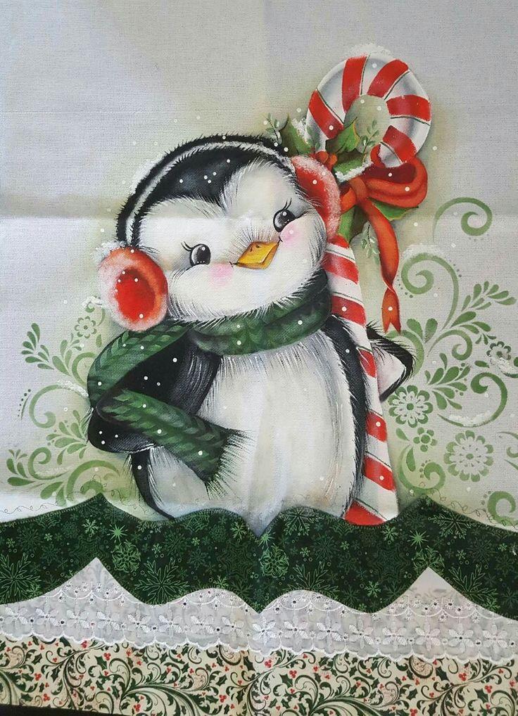 17 melhores ideias sobre pinguim desenho no pinterest beb pinguim desenhos natalinos para - Pintura en tela motivos navidenos ...