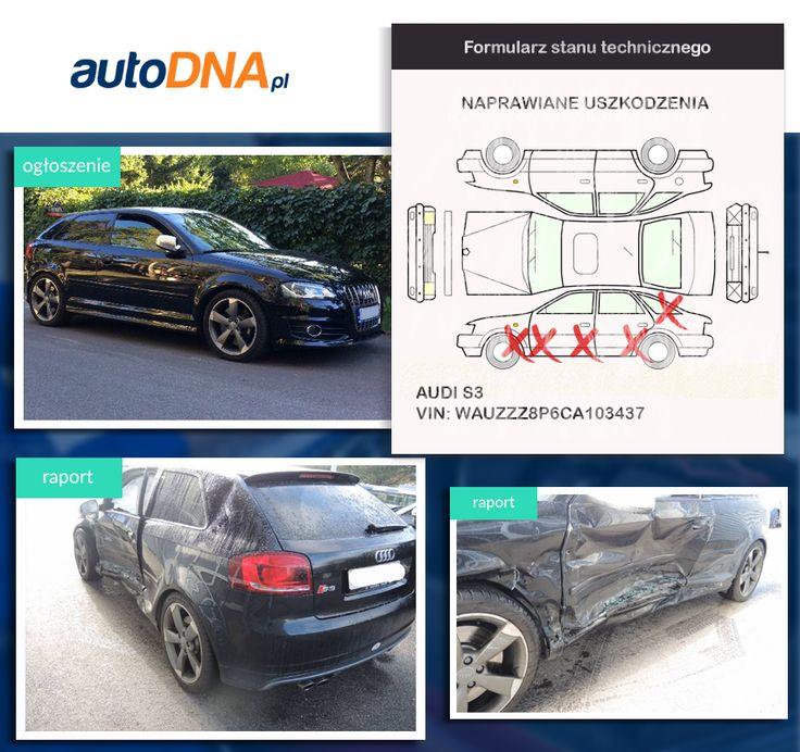 Baza #autoDNA - #UWAGA! #Audi #S3 https://www.autodna.pl/lp/WAUZZZ8P6CA103437/auto/f71ac09c6d24f225cfe2fe93a2b4e1d5cfe790c1 https://www.otomoto.pl/oferta/audi-s3-ksiazka-serwisowa-60-tys-km-rotor-18-ID6yT7Tb.html