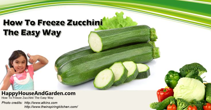 How to Freeze Zucchini the Easy Way