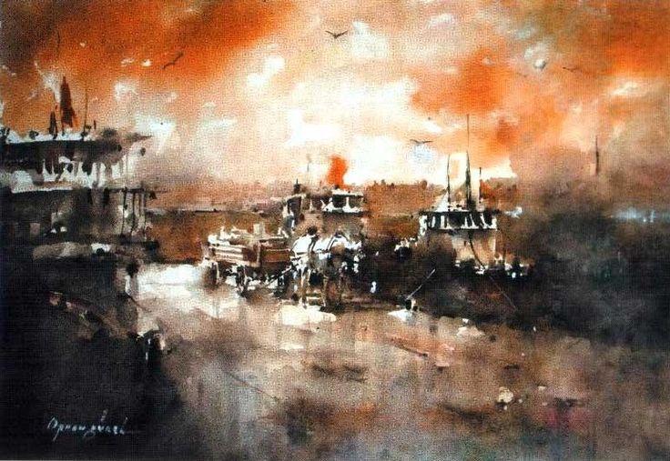 Orhan Gürel Turkish artist