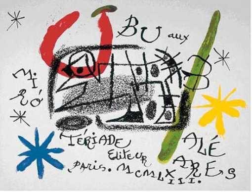 """Exposición de Joan Miró en Zaragoza. """"Miró y el mundo de Ubú"""", en el Palacio de Sástago"""
