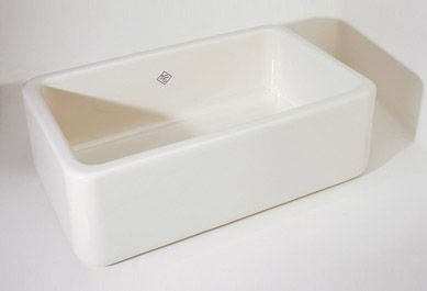 Shaws Original Single-Bowl Fireclay Apron Sink