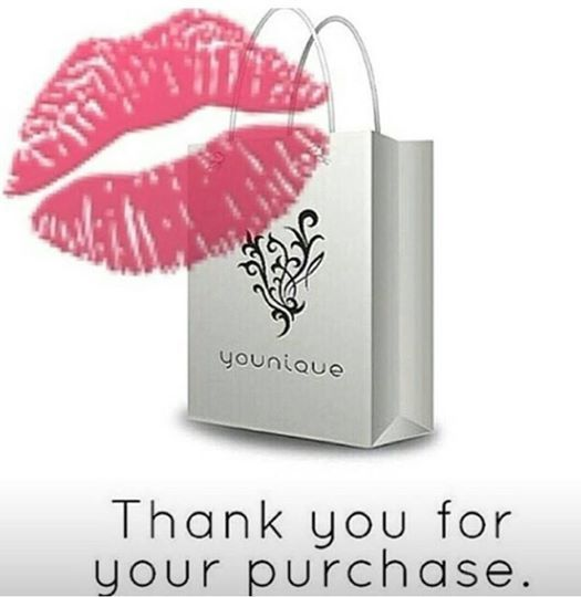 Thank You for your Younique Purchase!