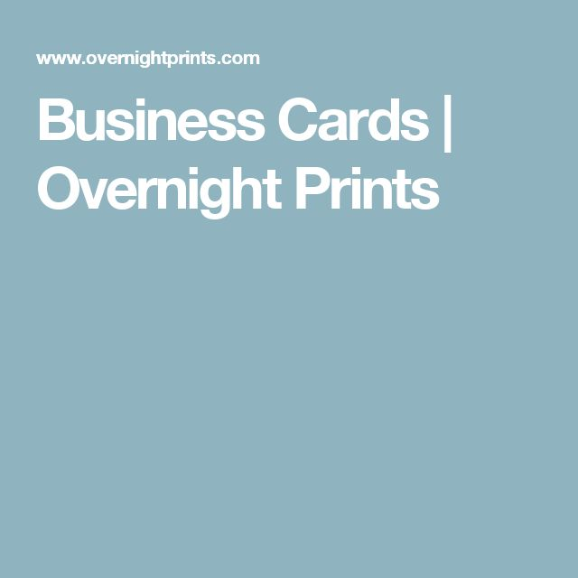 17 Best ideas about Overnight Business Cards on Pinterest