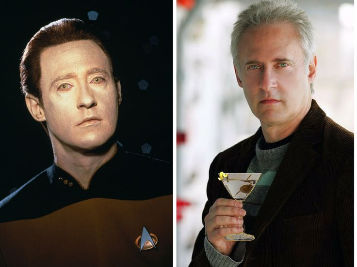 The Cast Of Star Trek Then & Now  Lt. Commander Data – Brent Spiner  Brent Spiner was loved for bringing a touch of humor to the show. Currently, he has a role in Independence Day: Resurgence.