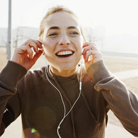 Playlists created based on beats per minute of the song.  Pick your speed (time per mile) and get a 5k track list just for that pace.