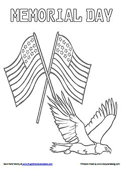 19 best memorial day coloring pages images on pinterest activities
