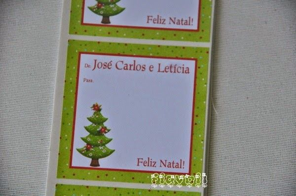 Etiqueta De/Para – Árvore de Natal  :: flavoli.net - Papelaria Personalizada :: Contato: (21) 98-836-0113 vendas@flavoli.net
