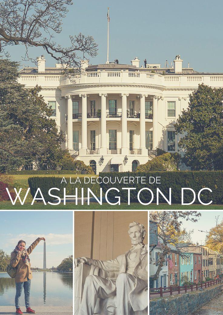 La capitale des Etats-Unis, ce n'est pas seulement une collection de bâtiments gouvernementaux et de musées, c'est aussi de chouettes quartiers, et de super restos.