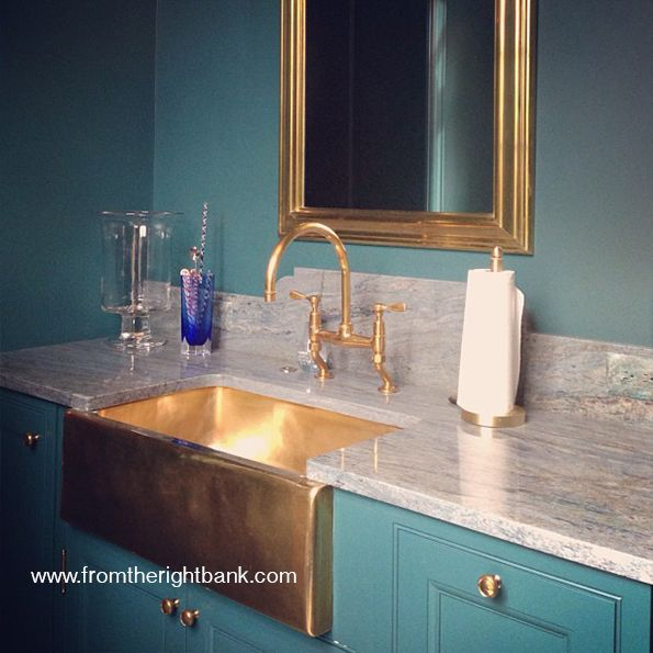 Gold/Brass/Bronze Kitchen Sinks | FROM THE RIGHT BANK