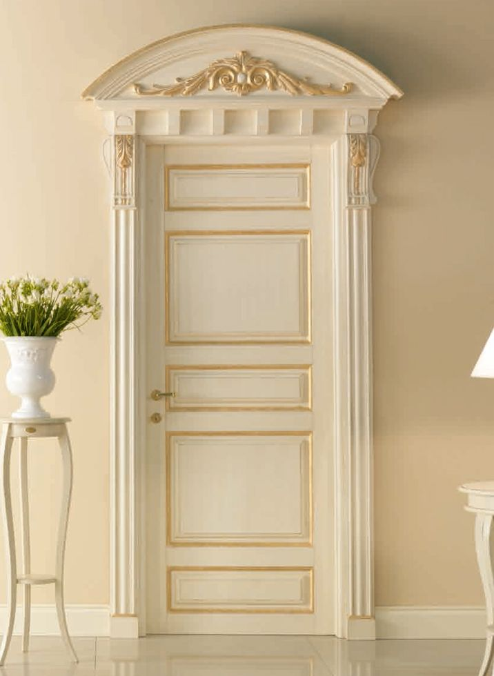 Bastiglia 768 qq g pant g with bastiglia doorway with for Bedroom door designs in wood