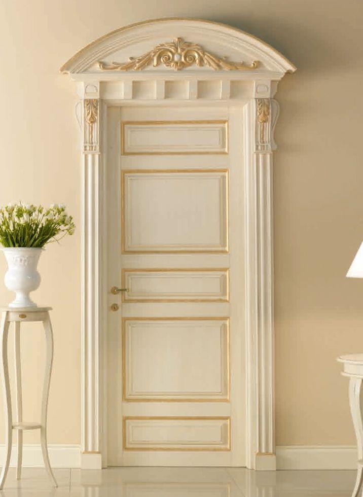 BASTIGLIA 768/QQ/G Pant.G with Bastiglia doorway with carving Bastiglia© Classic Wood Interior Doors | Italian Luxury Interior Doors | New Design Porte Emotions