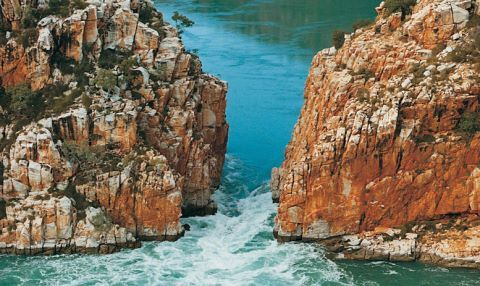 Horizontal Falls Kimberley's Western Australia