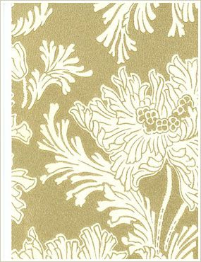 Lim & Handtryck Hällestrand guld-vit
