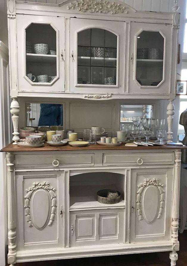 Die besten 25+ antike Küchenschränke Ideen auf Pinterest antike - wohnzimmerschrank eiche hell
