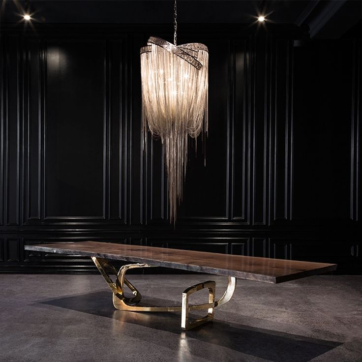 Creative wooden dining tables are sobering to a certain extent, but also highly manipulable, allowing designers' to explore all kinds of forms and finishes. www.bocadolobo.com