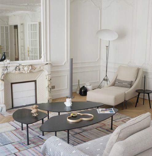 les 30 meilleures images du tableau appartement haussmannien sur pinterest decoration. Black Bedroom Furniture Sets. Home Design Ideas