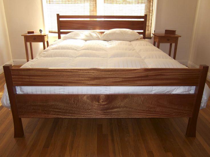 mahogany bed - Mahogany Bed Frame