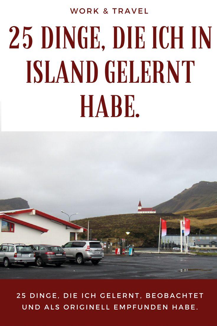 Dinge, die ich in Island gelernt habe und die Austauschschüler oder Work & Traveller sicher kennen.