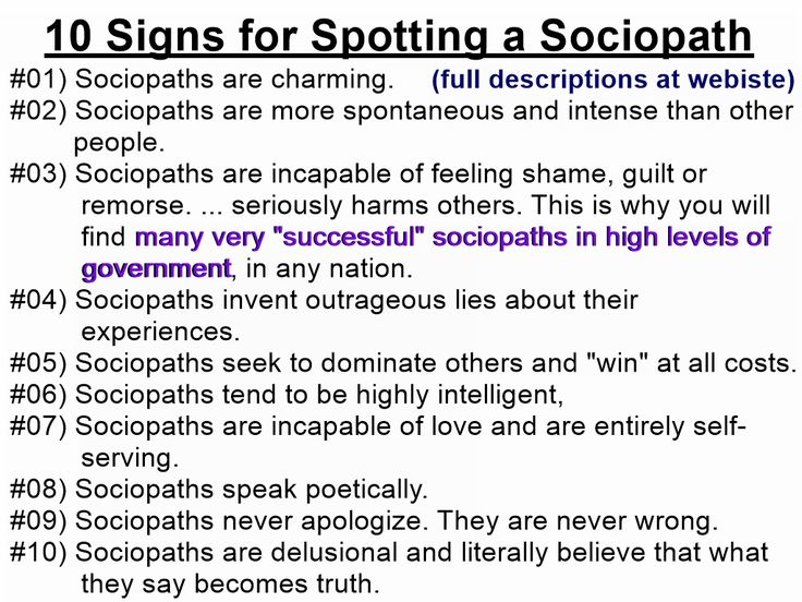 10 signs you re dating a sociopath