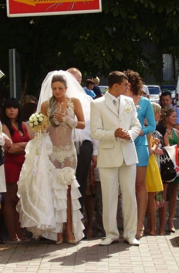Awkward And Funny Wedding Photos From All Over The World