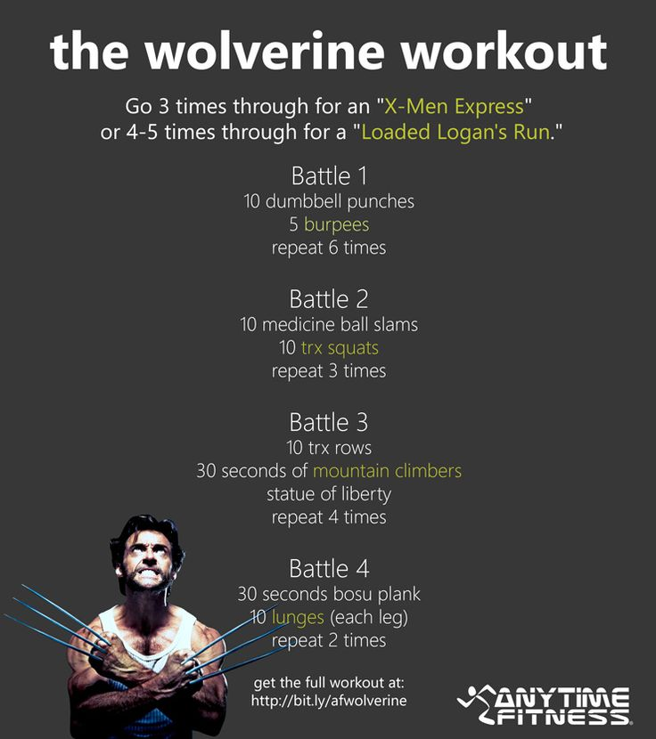 can you do this?..................The Wolverine Workout - Get ripped like Logan! #Wolverine #Workouts #Health