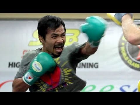awesome FIGHT CAMP 360: Episode 2: Pacquiao vs. Mosley