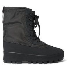 Yeezy x Adidas Originals Yeezy Boost 950 Canvas and Nubuck Duck Boots