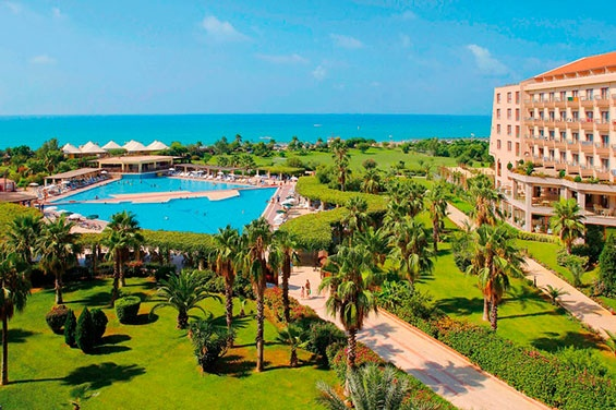 The Hotel Riu Kaya Belek (All Inclusive 24h), located in Belek, Turkey, has a 5-star-service and a lot of reasons that make this place so special. Hotel Riu Kaya Belek - Hotel in Belek-Antalya, Turkey - RIU Hotels & Resorts
