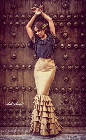 Flamenco skirt - I have always loved this very feminine cut of the flamenco skirt...embracing your curves ~ feminine & sexy...
