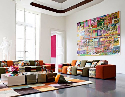 Il divano componibile di Roche Bobois