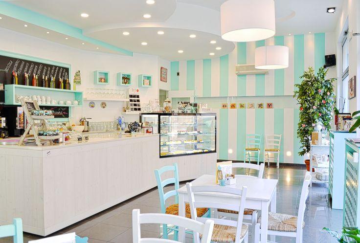 Inside our sweet bakery in Mantova