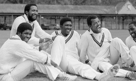 When WI were kings: Rowe, Roberts, Garner, Croft, Richards
