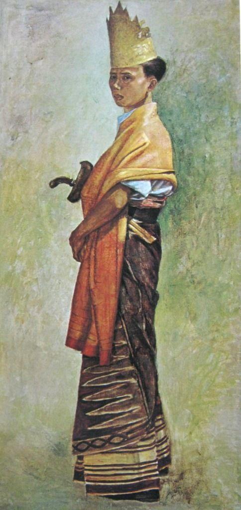 Dullah - Pemuda lampung berpakain adat