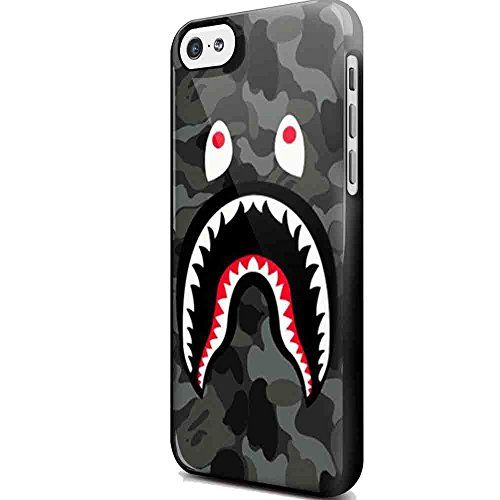 shark iphone case bape shark black army pattern for iphone and samsung 5048