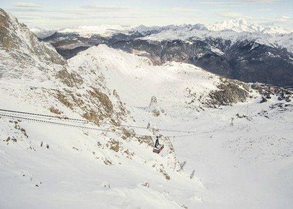 Ski Hotel luxury gondola Alpine snow