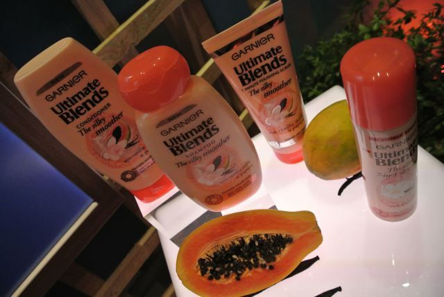 Garnier Ultimate Blends hair care range
