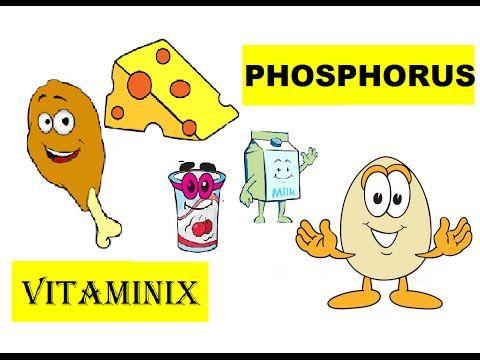 Vitaminix - #Kids #Learning  #Food #Health  #YouTube - Phosphorus