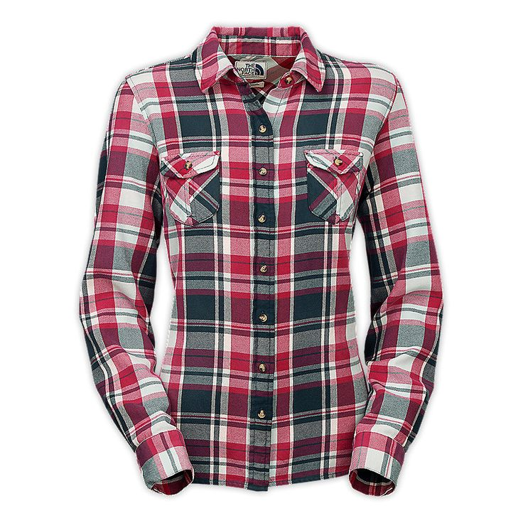 275 best mountain lifestyle images on pinterest north for Womens christmas flannel shirt