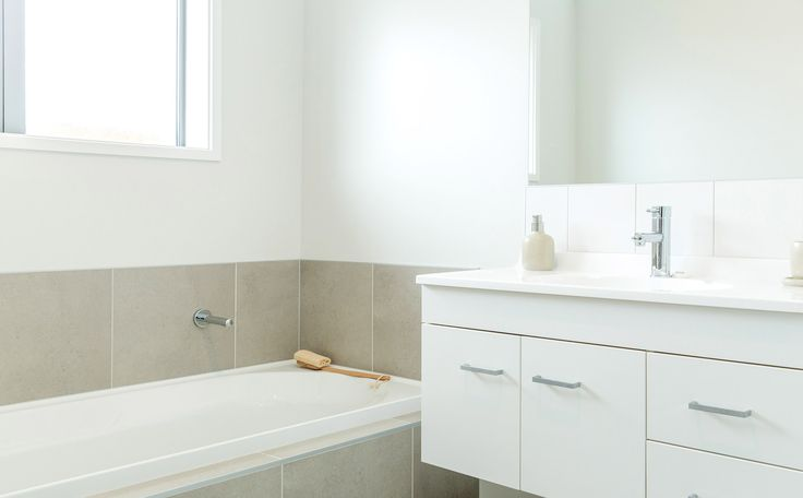 If you want a bath, we can add it in your house design.