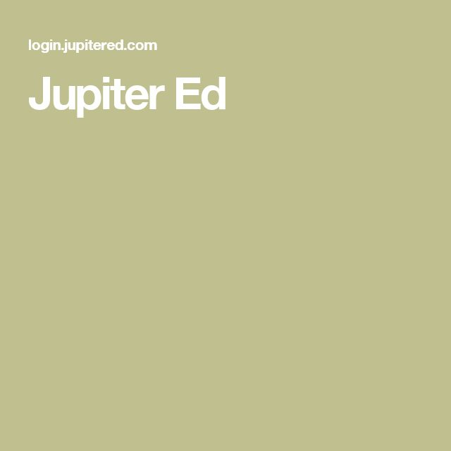 Jupiter Ed