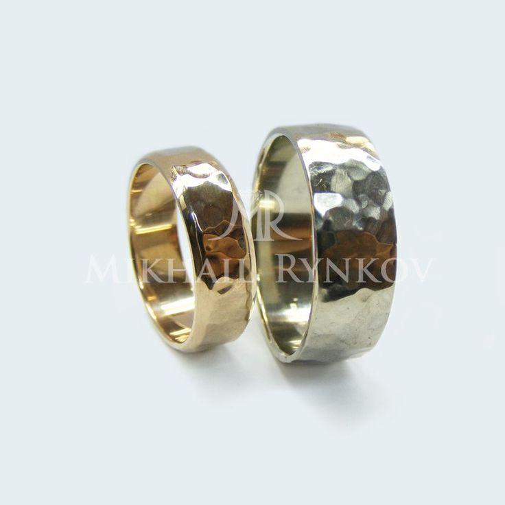 Обручальные кольца из одного цвета золота. – 297 фотографий