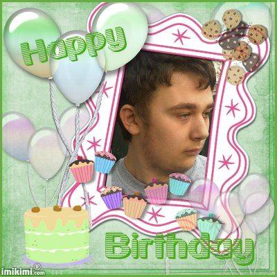 vandaag is de 20ste verjaardag van mn zoon edwin