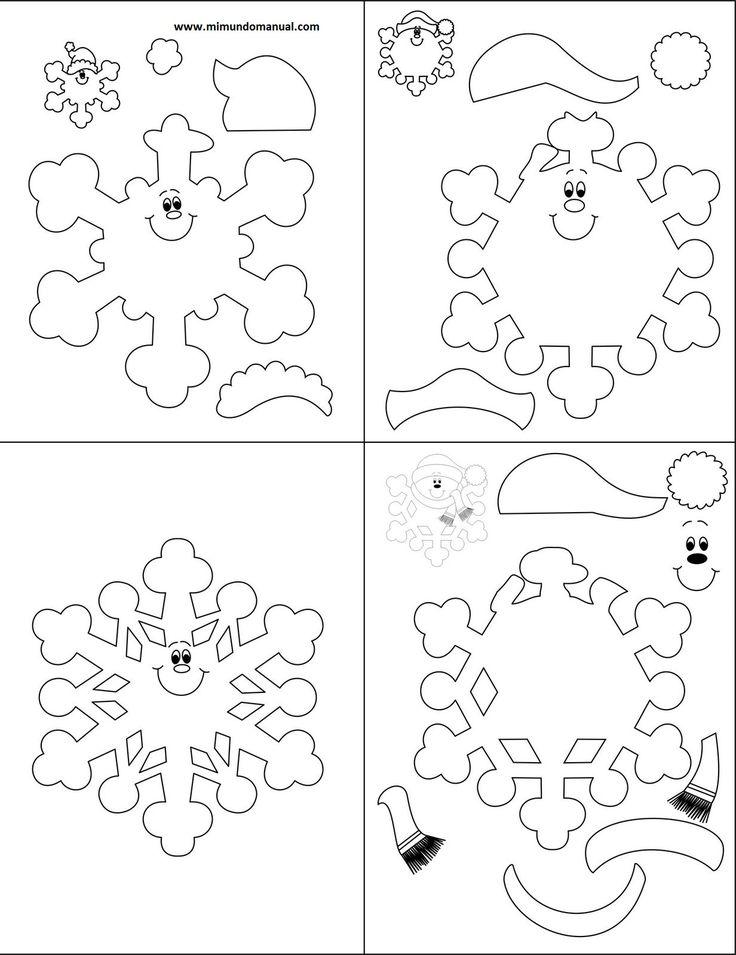 moldes de muñecos navideños en foami para imprimir - Google zoeken ...