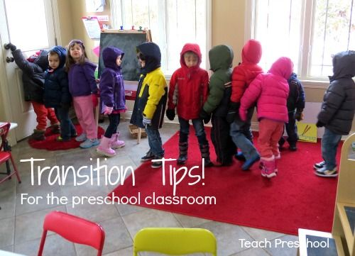 Ten tips to dealing with those troubling transitions – Teach Preschool