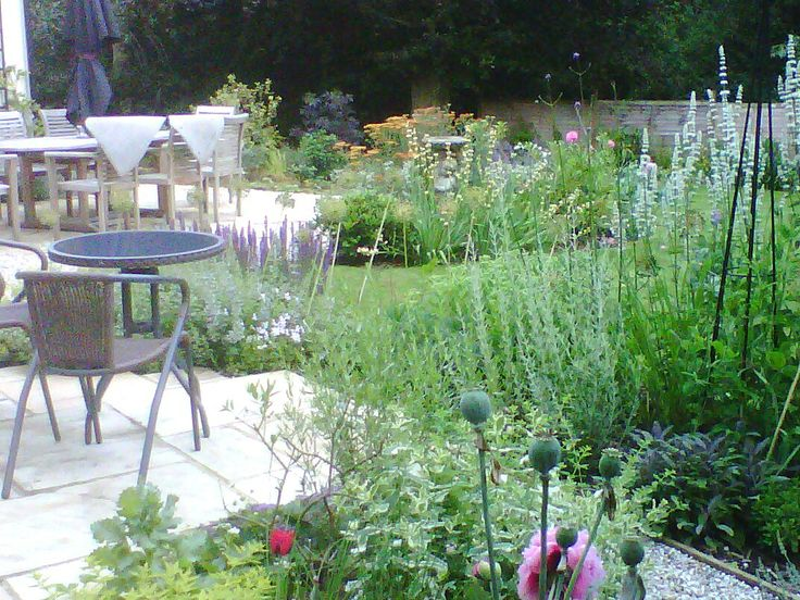 finished garden, Woburn Sands