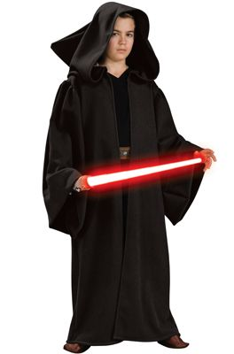 Deluxe Hooded Sith Robe Child Costume - PureCostumes.com