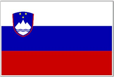 Flag of Slovenija