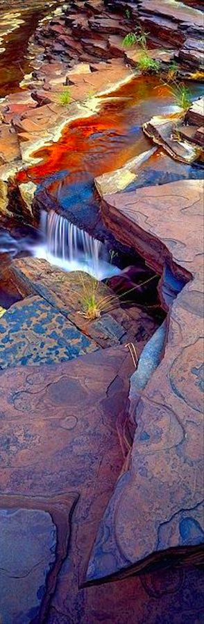 Kalamina Gorge at Karijini National Park in Western Australia • Christian Fletcher Photo Images